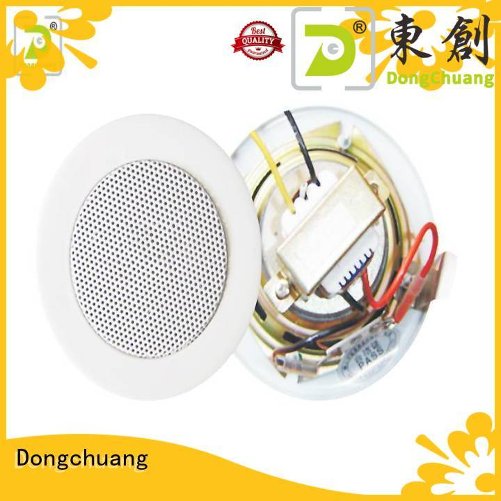 Dongchuang good quality bluetooth ceiling speaker system on sale for professional use