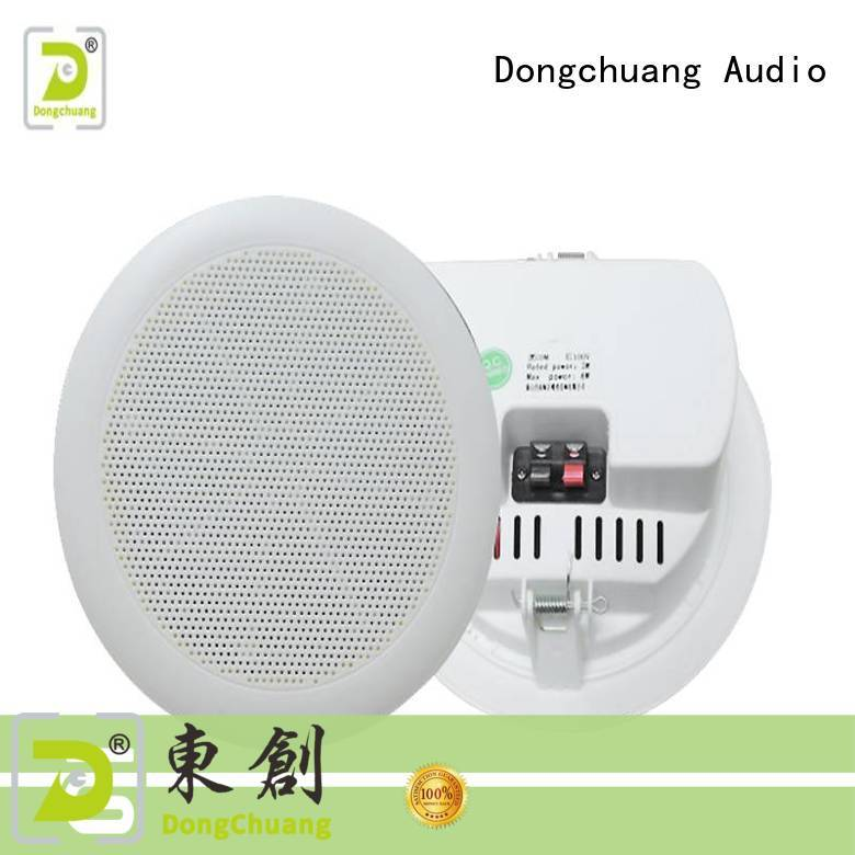 Dongchuang ceiling mounted speakers supplier for professional use