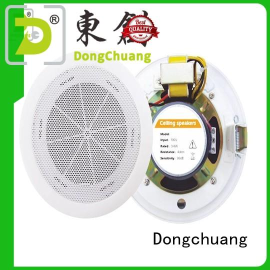 Dongchuang bluetooth ceiling speaker system factory direct supply for concert