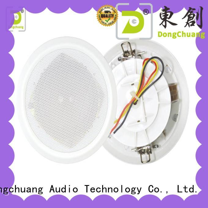 Dongchuang popular ceiling mounted speakers from China for good sound quality