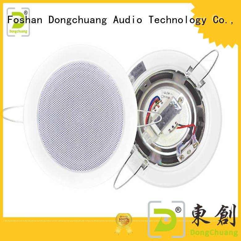 Dongchuang popular house ceiling speakers best manufacturer for club