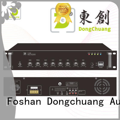 Dongchuang dj mixer amplifier promotion for home use