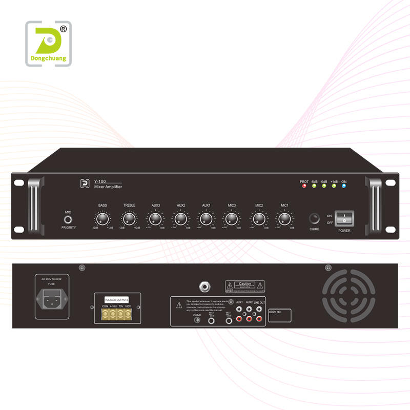 Power mixer amplifier    Y-500