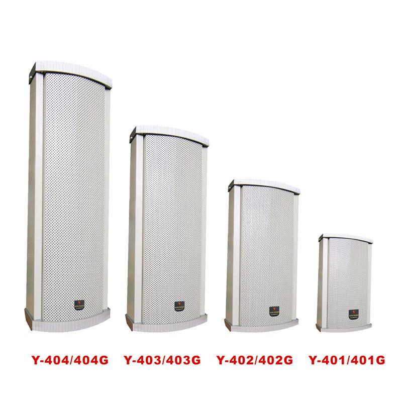 High quality waterproof outdoor column speaker   Y-401/402/403/404