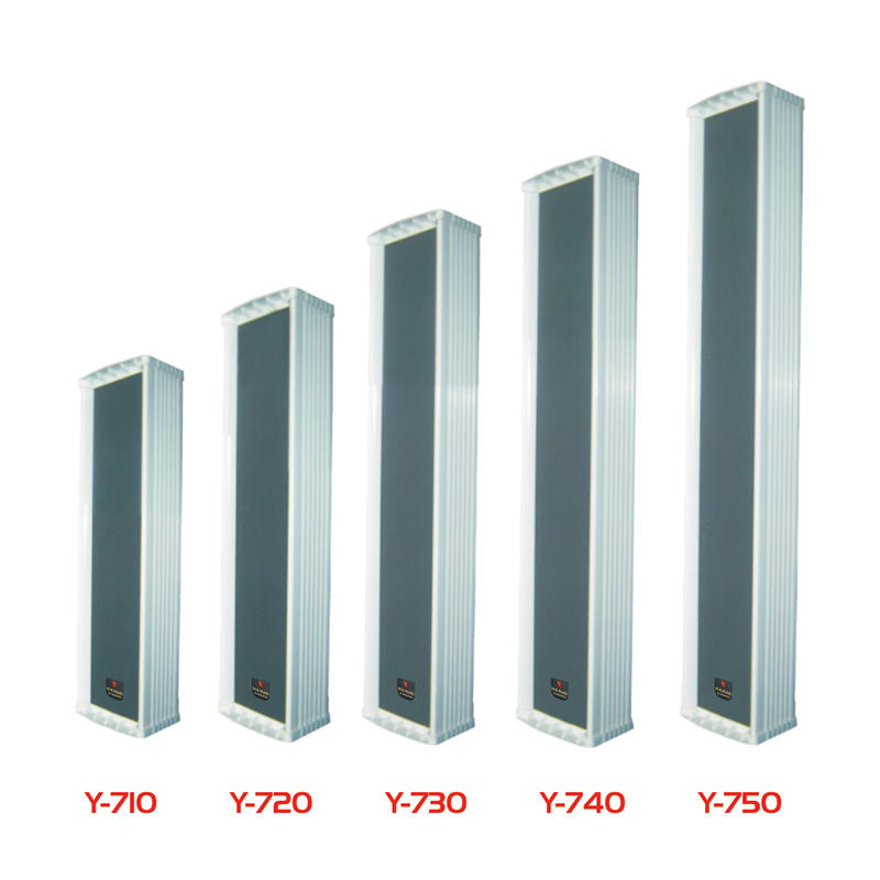 Indoor/outdoor column speaker Y-710/720/730/740/750