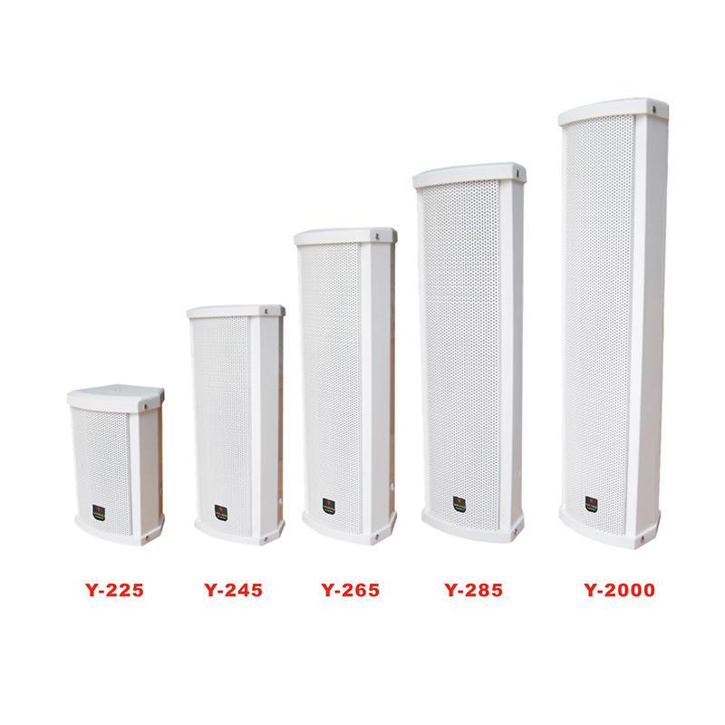 Luxury outdoor column speaker  Y-225/245/265/285/2000