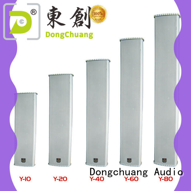 cheap pa column speaker with good price for KTV