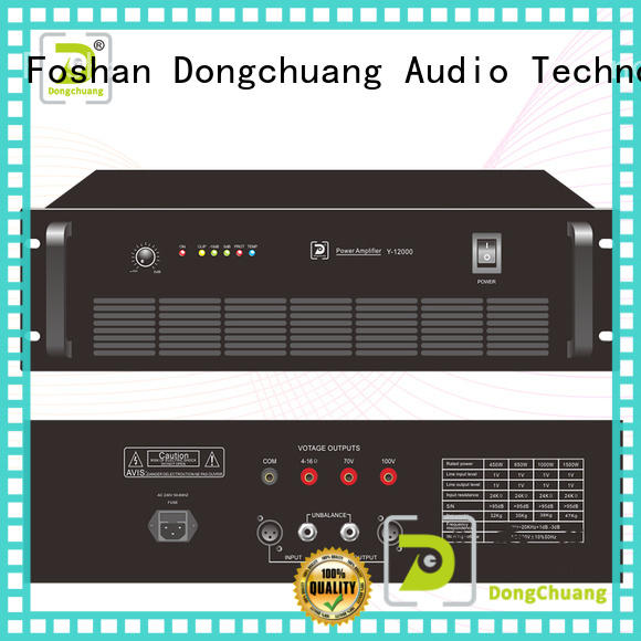 Dongchuang dj power amplifier wholesale for bar