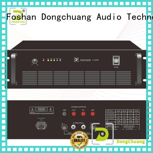 Dongchuang dj power amplifier wholesale for bar