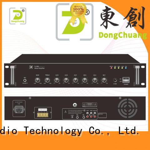 Dongchuang dj mixer amp supply for KTV