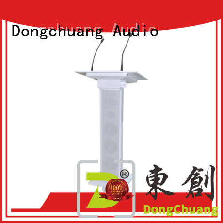Dongchuang lectern with microphone supplier for bar