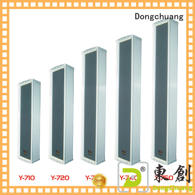 Dongchuang best price column speaker design directly sale for professional use