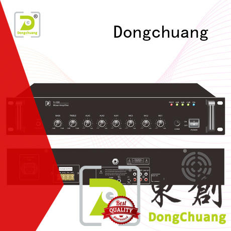 Dongchuang speaker mixer amplifier factory price for concert
