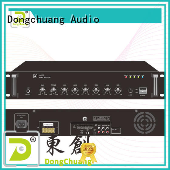 Dongchuang cheap digital mixer amplifier factory for show