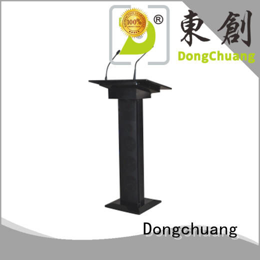 Dongchuang cost-effective lectern with microphone wholesale bulk production