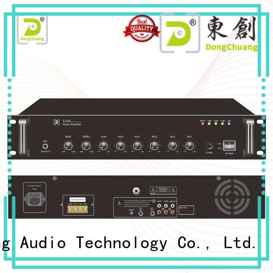 Dongchuang audio mixer amplifier best supplier for performance