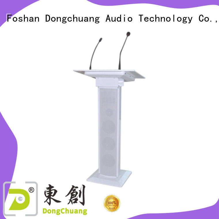 Dongchuang lectern with microphone company for home use