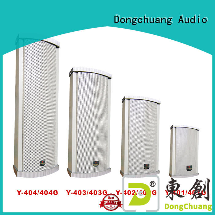 high quality best column speakers supplier for show