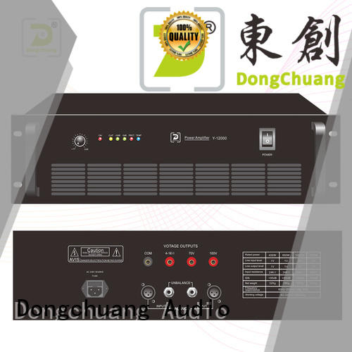Dongchuang audio power amplifier directly sale for show