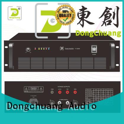 Dongchuang audio power amplifier factory price bulk production