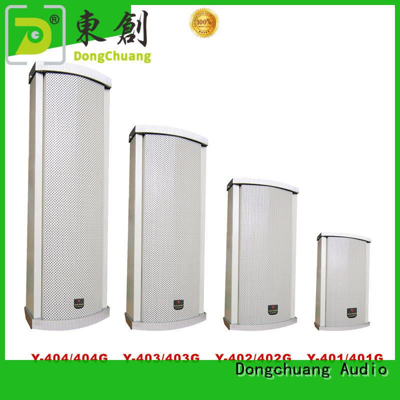 quality column array speakers manufacturer bulk production