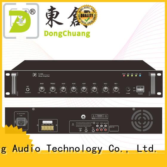 Dongchuang dj mixer amplifier bulk buy for concert