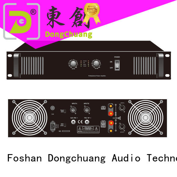 Dongchuang poweramp pro best supplier for good sound quality
