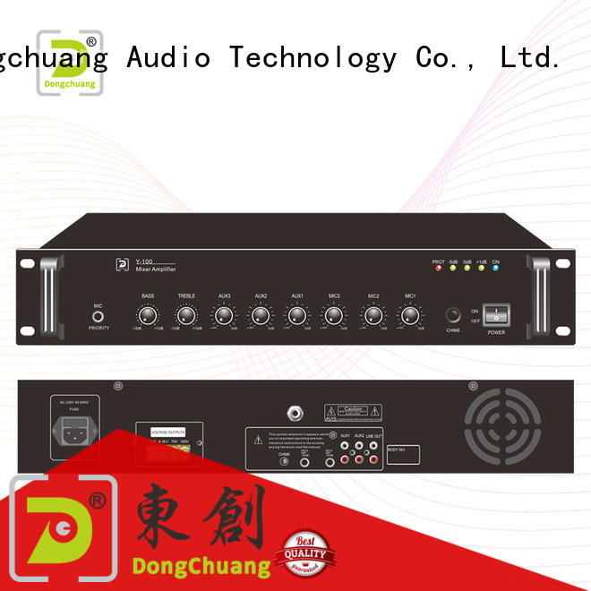 Dongchuang speaker mixer amplifier promotion for commercial use