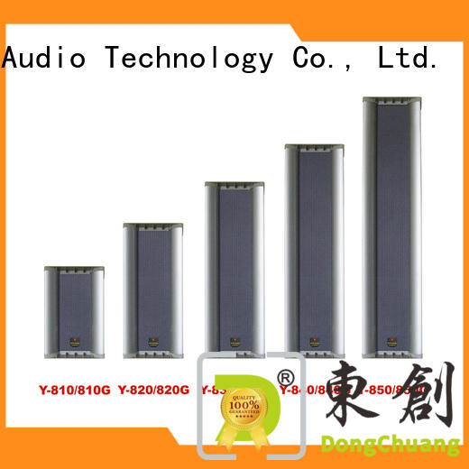 factory price column array speakers manufacturer for concert