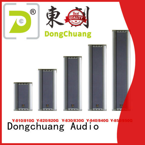 Dongchuang stable column array speakers suppliers for karaoke