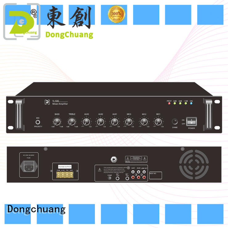 Dongchuang promotional dj amplifier from China for business