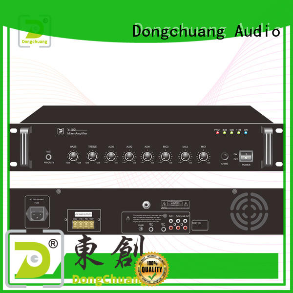 Dongchuang pa mixer amp factory direct supply for club