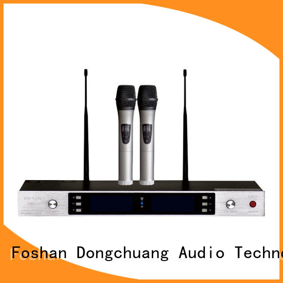 Dongchuang practical professional wireless microphone with good price for karaoke