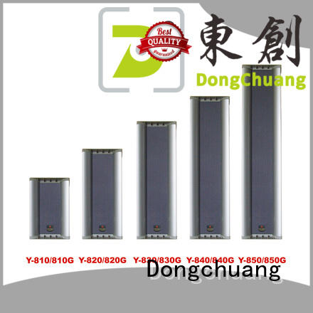Dongchuang best value pa speaker columns manufacturer for good sound quality