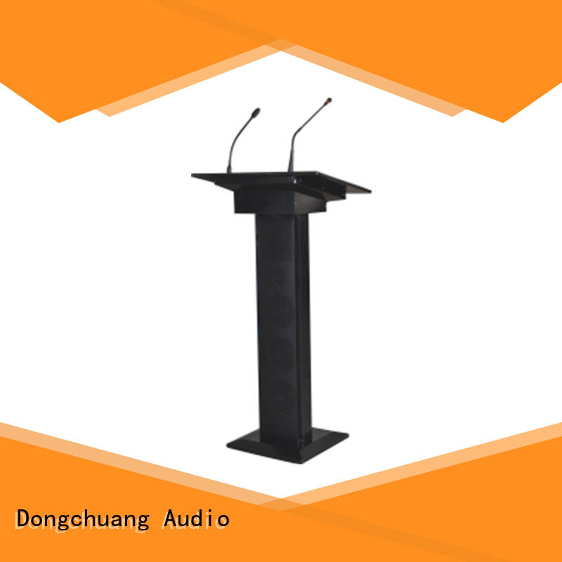 Dongchuang lectern pa system suppliers for good sound quality