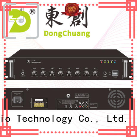Dongchuang powered pa mixer amplifier supply for business
