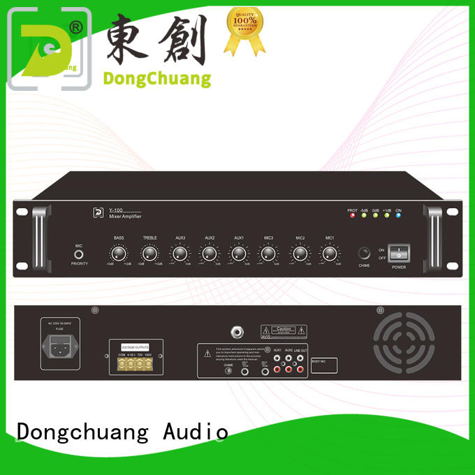 Dongchuang dj amplifier factory price for concert