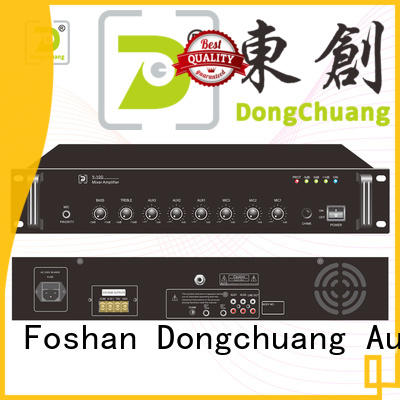 Dongchuang best value powered mixer amp best supplier for commercial use