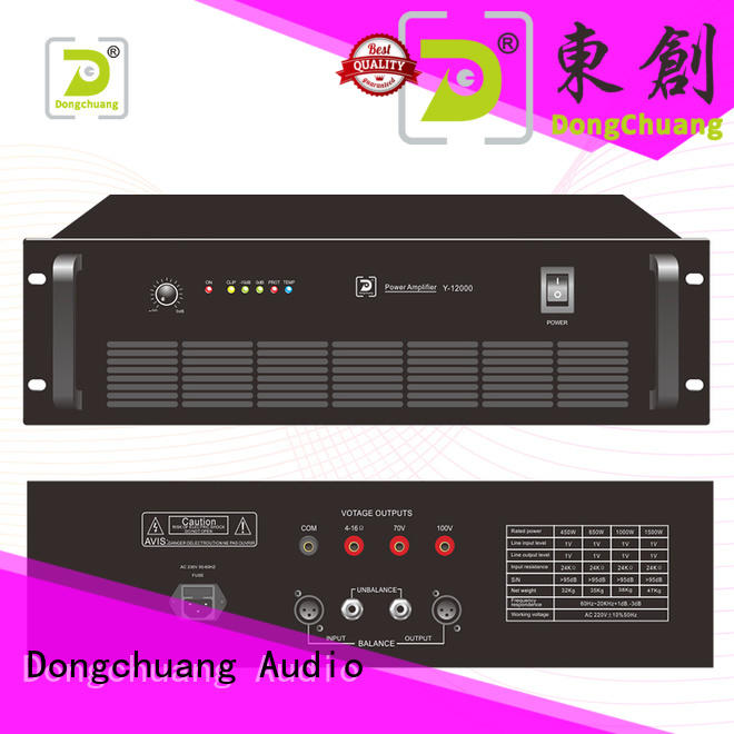 Dongchuang quality home stereo power amp factory for KTV