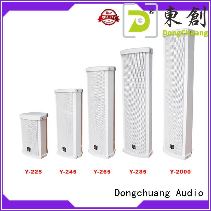 top selling column loudspeaker supply for show