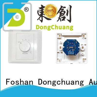 Dongchuang volume control knob for speakers with good price for professional use