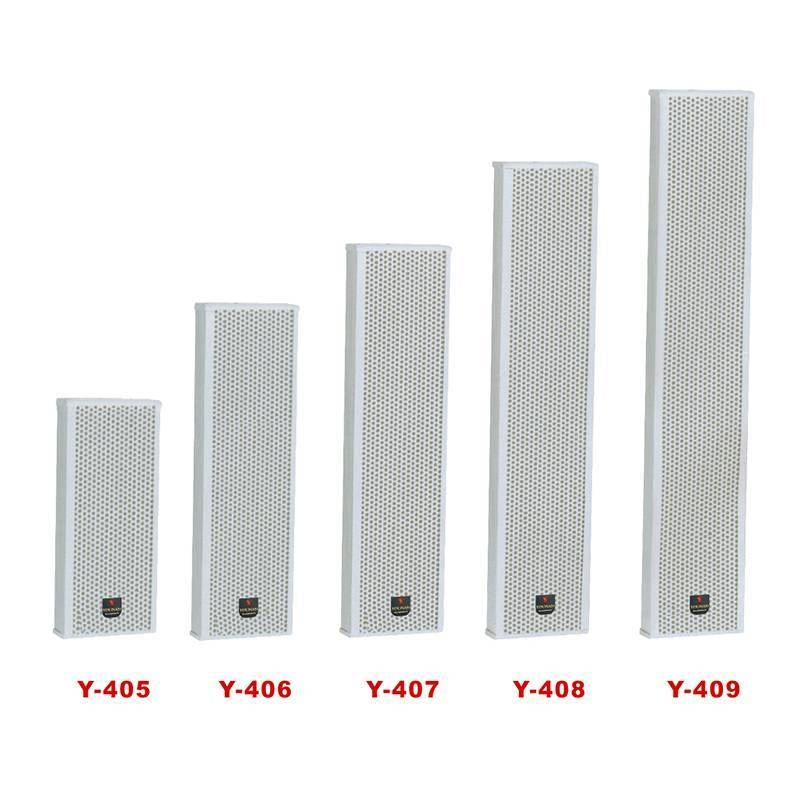 Luxury large-scale outdoor column speaker Y-405/406/407/408/409