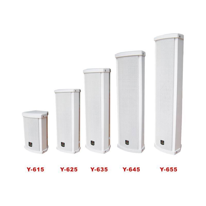 Waterproof column speaker   Y-615/625/635/645/655