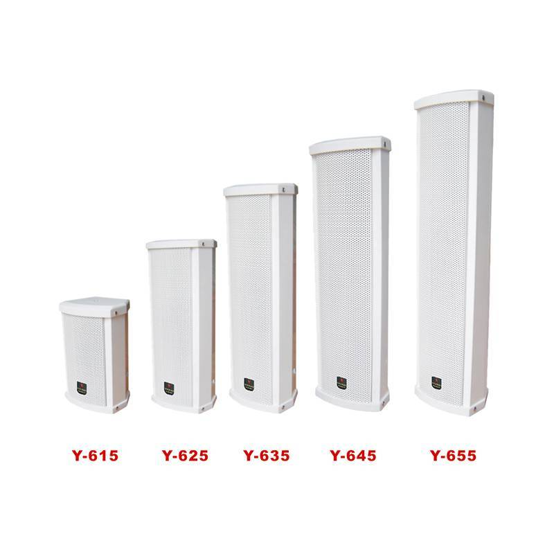 Waterproof column speaker   Y-615/625/635/645/655