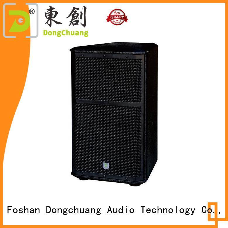 Dongchuang professional sound speakers wholesale bulk production
