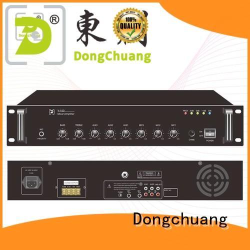 Dongchuang best value speaker mixer amplifier factory for bar