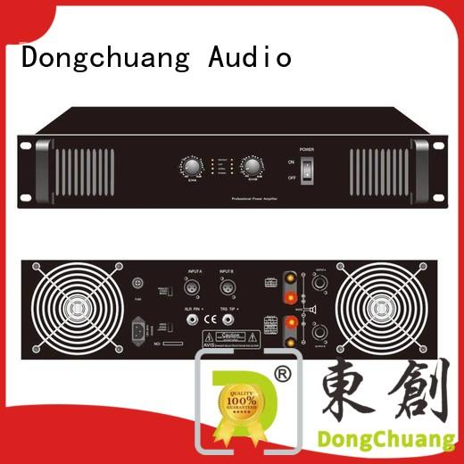Dongchuang professional power amplifier factory for performance