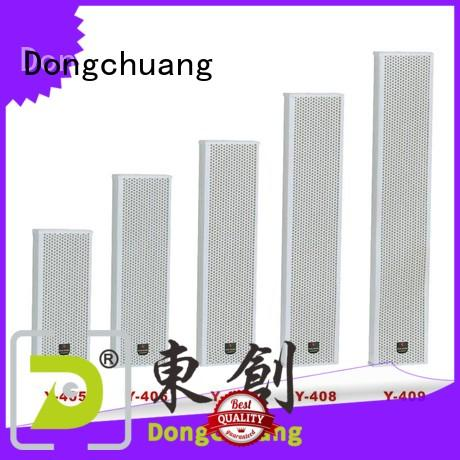 Dongchuang pa column speaker supplier for business