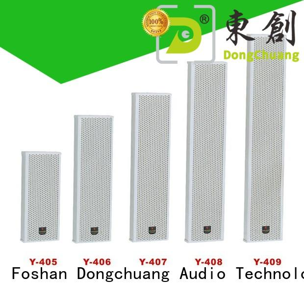 Dongchuang cheap column speaker design series for home use