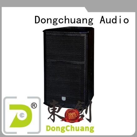 Dongchuang professional audio speakers factory direct supply for show